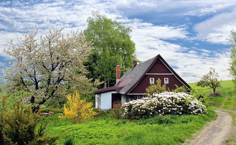 Hus der ligger på landet