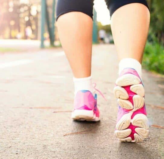 Kvinde der løber