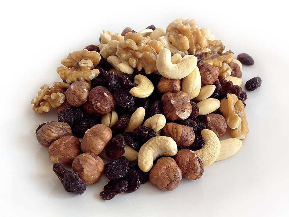 Rosiner og andre nødder