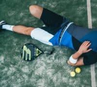padel tennis spiller