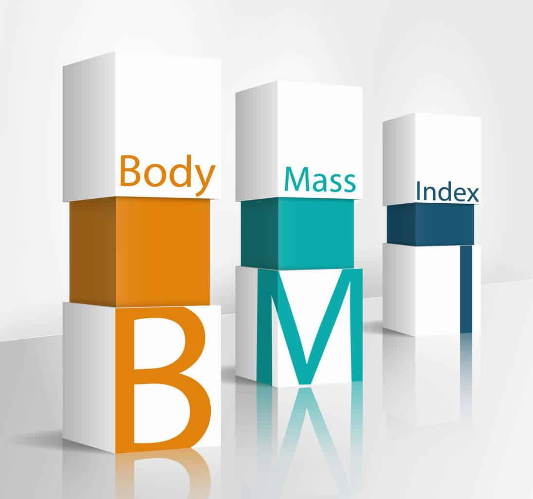 body mass index staves BMI